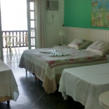 Suite 05 - Suite com varanda Vista Mar